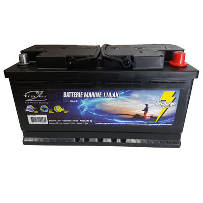 Batterie frazer marine 110ah decharge legere - Batteries | Pacific Pêche