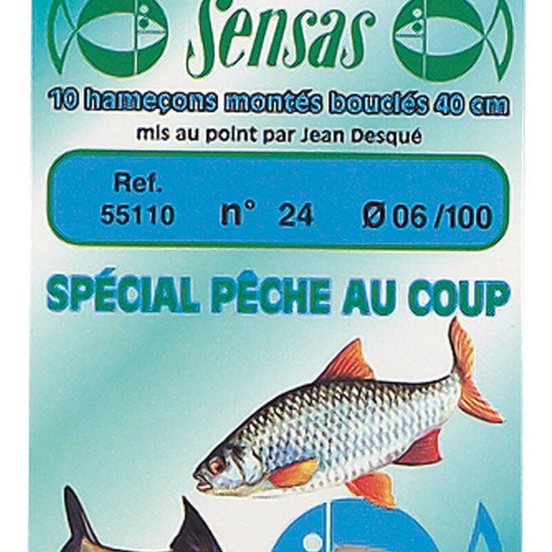 Hameçons montés coup sensas special coup (x10) - Hameçons Montés | Pacific Pêche