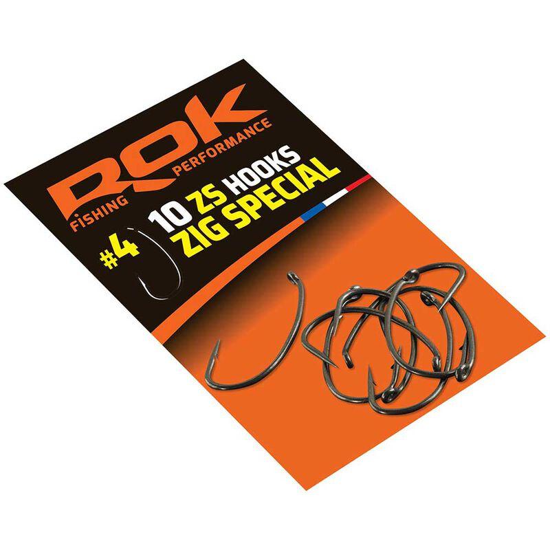 Hameçons spécial zig rok - pochette de 10 - Hameçons | Pacific Pêche