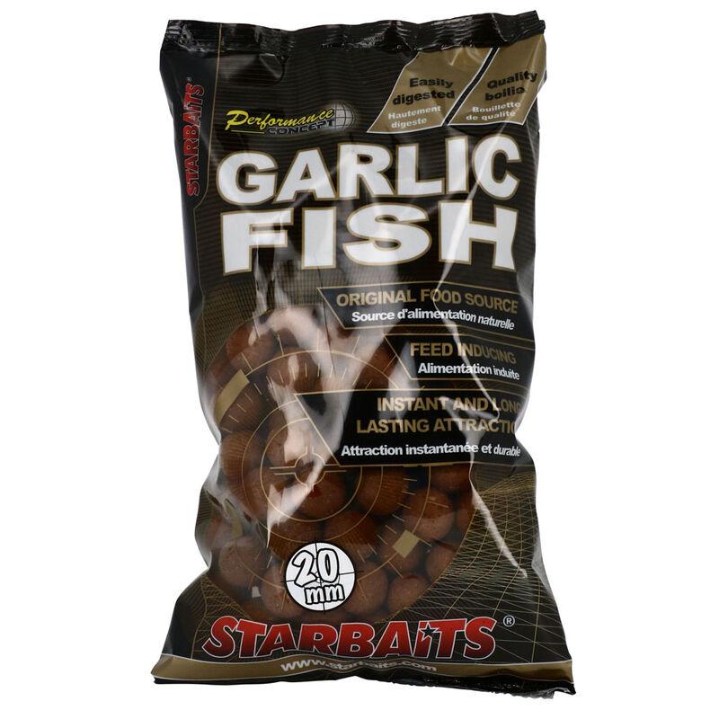 Bouillettes carpe performance.con garlic fish 20mm - Denses   Pacific Pêche