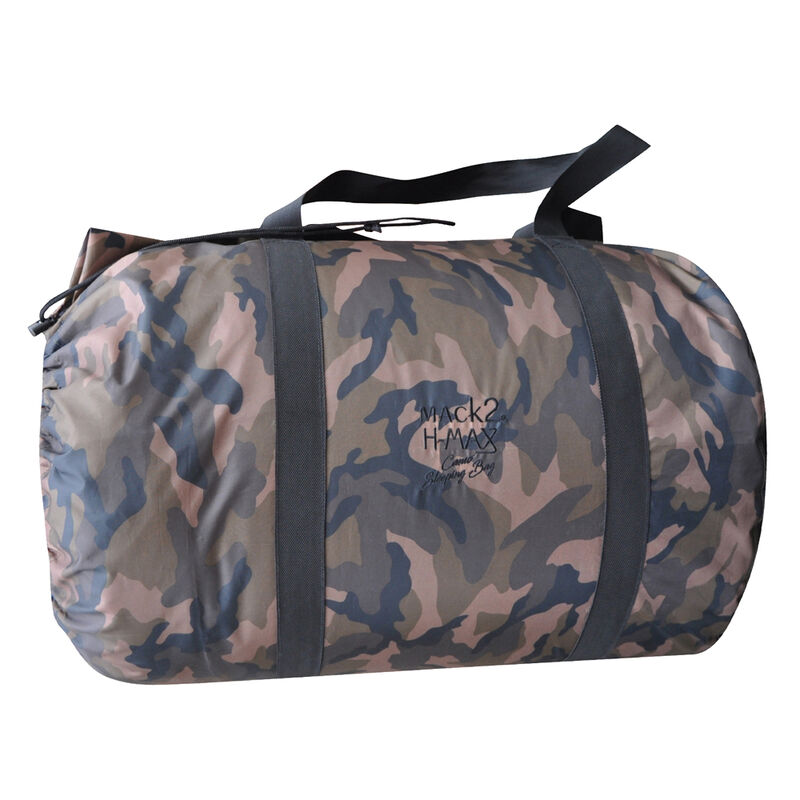 Duvet carpe mack2 h max camo sleeping bag - Sac de couchages   Pacific Pêche