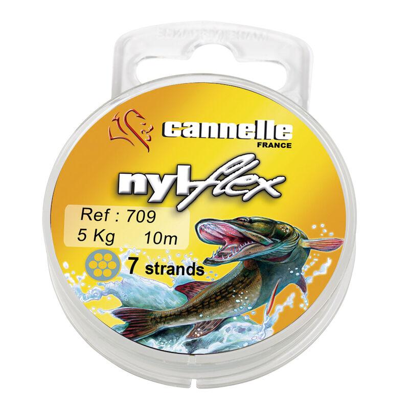 Bas de ligne acier carnassier cannelle nylflex c709 10m - Bas de ligne acier | Pacific Pêche