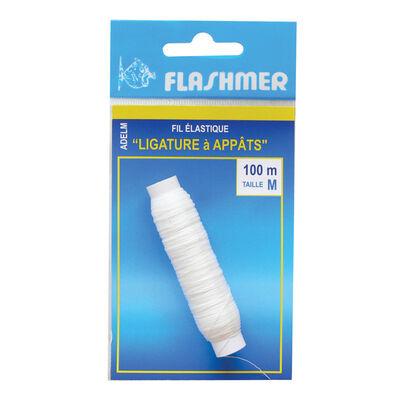 Fil elastique ligature a appats flashmer 100 m - Fixes Appâts | Pacific Pêche