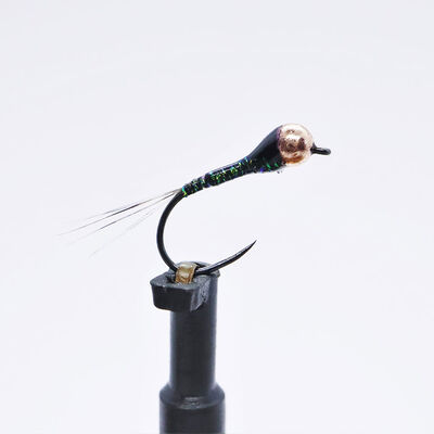 Kit 3 nymphes perdigones olives h14 bille cuivre tung 2,8 mm - Nymphes | Pacific Pêche