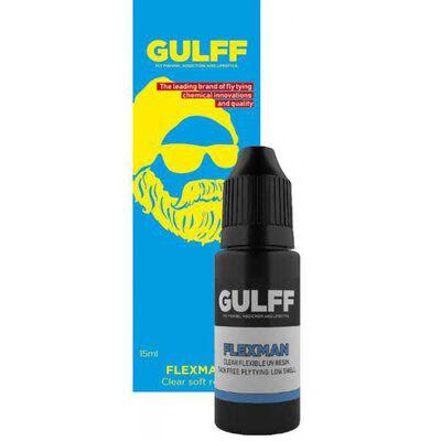 Résine uv gulff flexman 15 ml (souple transparente) - Epoxy | Pacific Pêche