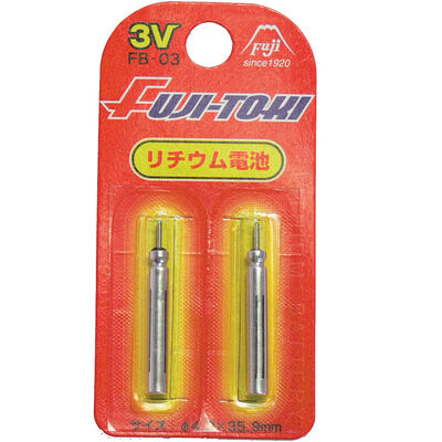 Piles flashmer lithium fuji-toki br435 - Lumineux | Pacific Pêche
