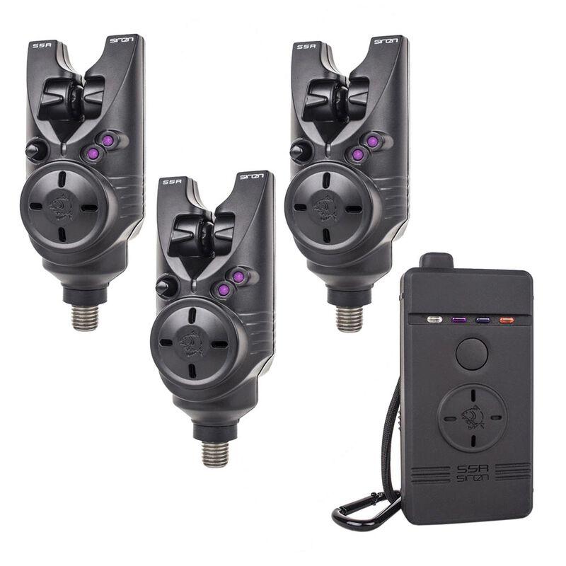 Pack detecteur nash siren s5r violet + centrale - Packs   Pacific Pêche
