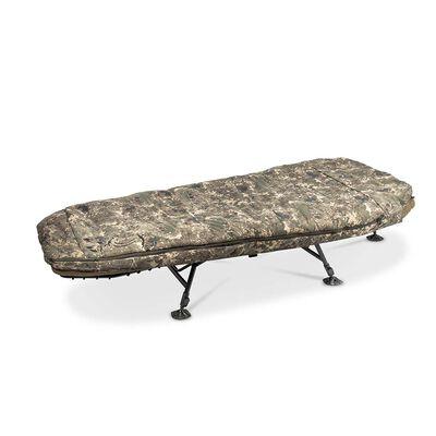 Bedchair avec duvet nash mf60 indulgence 5 season ss3 wide - Bedchairs | Pacific Pêche