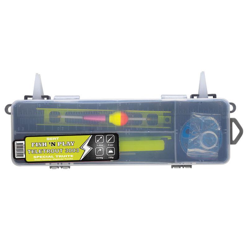 Pack carnassier sert kit fish'n play teletrout 3003 + 201rd + box - Ensembles | Pacific Pêche