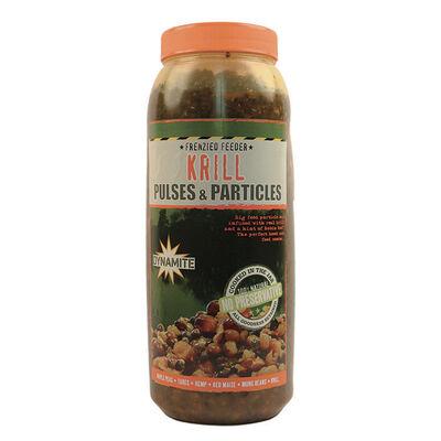 Graines cuites carpe dynamite baits frenzied pulse krill parti mix 2.5l - Prêtes à l'emploi | Pacific Pêche