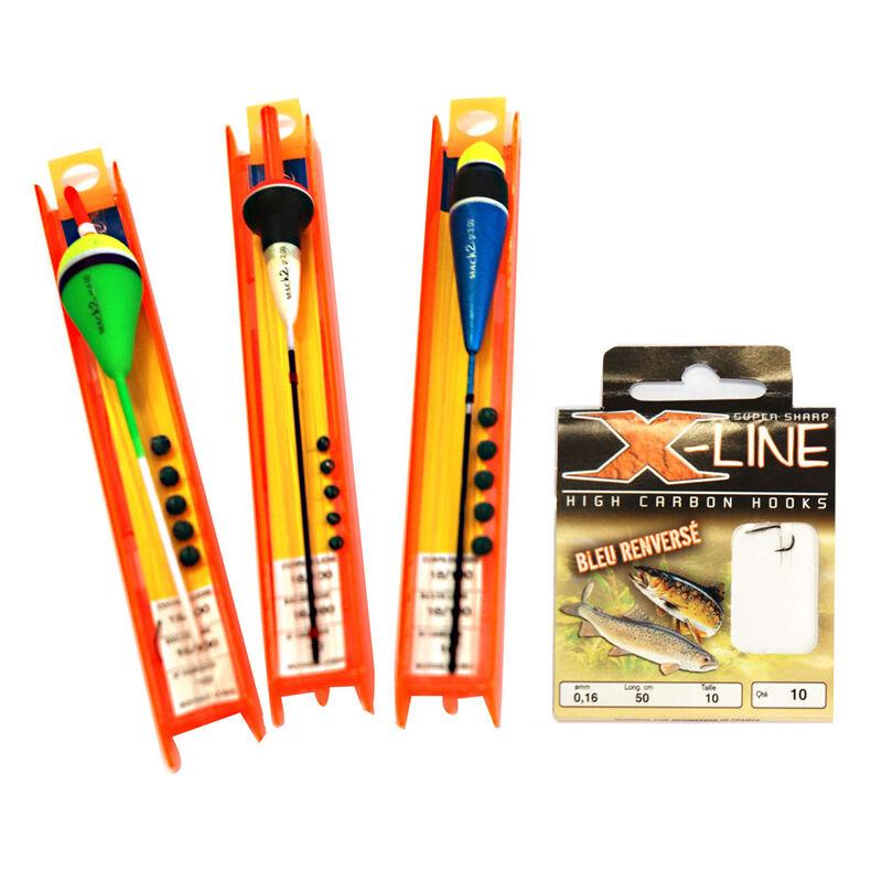 Pack mer bord xline kit lignes montées mer + hm - Bas de Lignes / Lignes Montées | Pacific Pêche