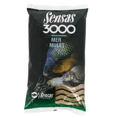 Amorce mer sensas 3000 mulet 1kg - Amorce | Pacific Pêche