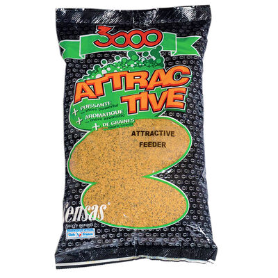 Amorce coup sensas 3000 attractive feeder 1kg - Amorces | Pacific Pêche