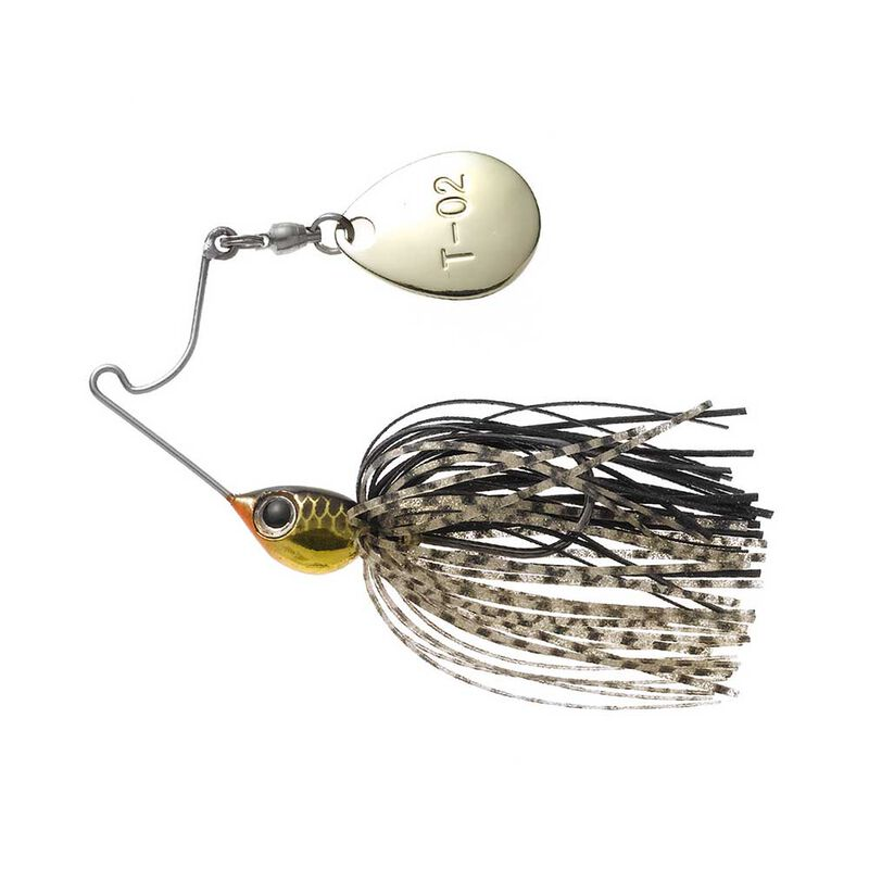 Spinnerbait tiemco critter tackle cure pop spin 3,5g - Leurres spinner Baits   Pacific Pêche