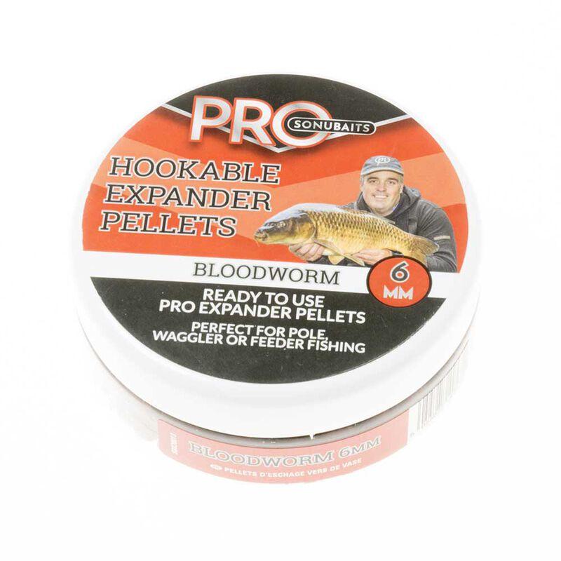 Pellets d'eschage pro expander hookable bloodworm - Eschage | Pacific Pêche