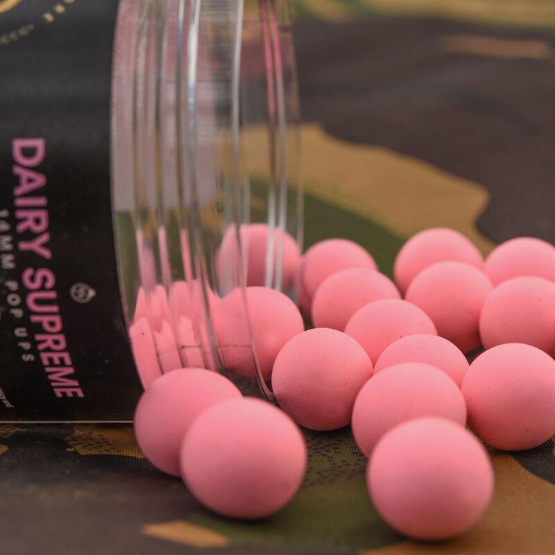 Bouillettes flottantes carpe cc moore elite pop dairy supreme washed out pink - Flottantes | Pacific Pêche