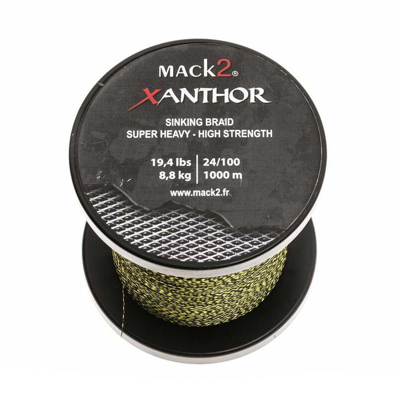 Tresse coulante mack2 xanthor sinking braid 1000m - Tresse | Pacific Pêche