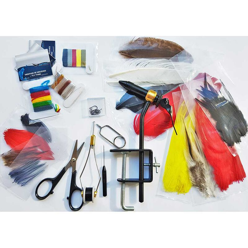 Pack mouche liberty 9' soie de 4/5 et équipement fabrication de mouche - Cannes | Pacific Pêche