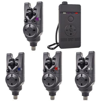 Pack 4 détecteurs carpe siren s5r nash - Packs | Pacific Pêche