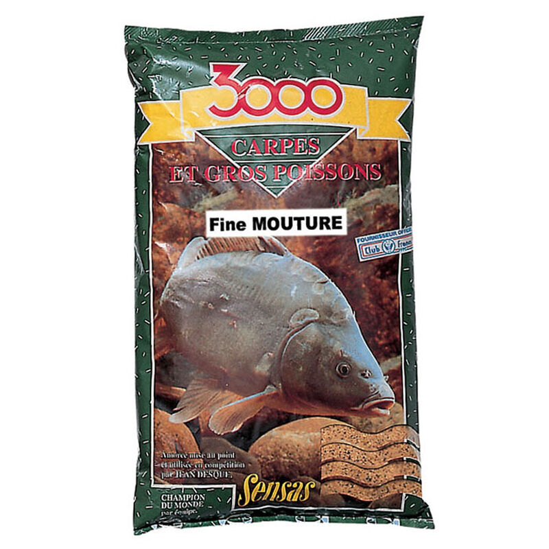 Amorce coup sensas 3000 fine mouture carpe - Amorces | Pacific Pêche
