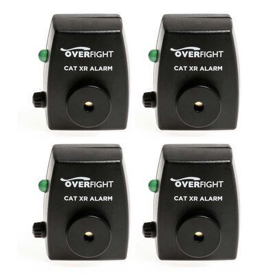 Pack de 4 détecteurs silure overfight cat xr alarm - Packs | Pacific Pêche