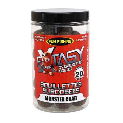 Bouillettes fun fishing extasy surdosées 15/20mm monster crab 200g - Denses | Pacific Pêche