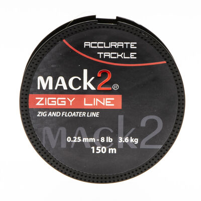 Nylon carpe mack2 ziggy line 150m - Monofilament | Pacific Pêche