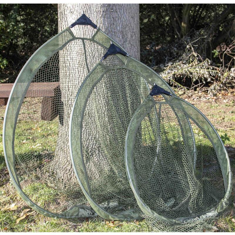 Tête d'épuisette ronde pliante korum 65cm - Têtes | Pacific Pêche