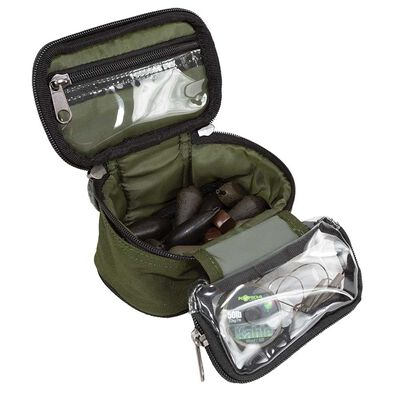 Sac aquaproducts lead and leader pouch black series - Sacs/Trousses Acc.   Pacific Pêche