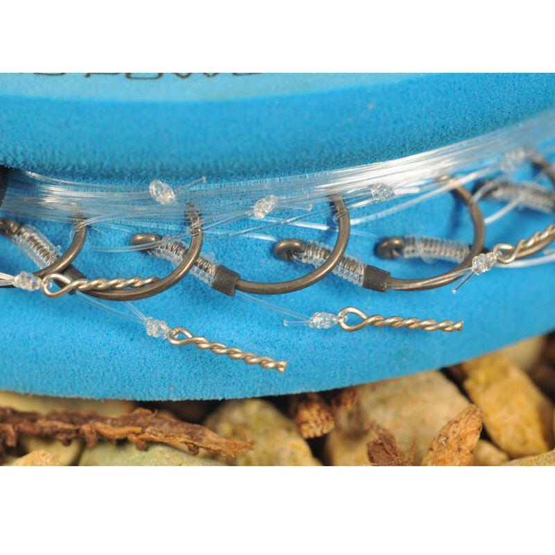 Hameçons montés coup guru bayonnets qm1 38cm (x8) - Hameçons / bas de ligne feeder | Pacific Pêche