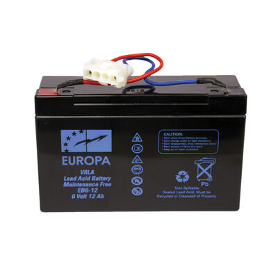 Batterie supplémentaire pour bateau amorceur carpe anatec 6v 12a - Bateaux Amorceurs | Pacific Pêche