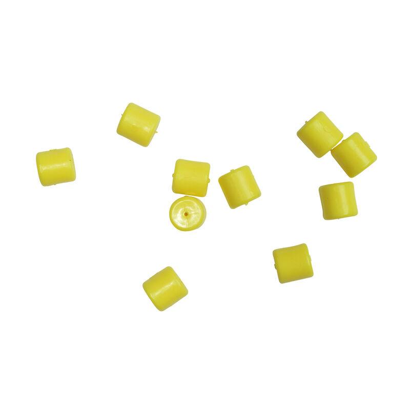 Imitation d'appât carpe mack2 pop up pellets yellow (x10) - Imitations   Pacific Pêche