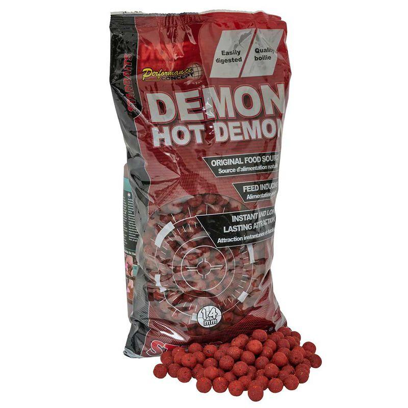 Bouillettes carpe performance concept hot demon 14mm - Denses | Pacific Pêche