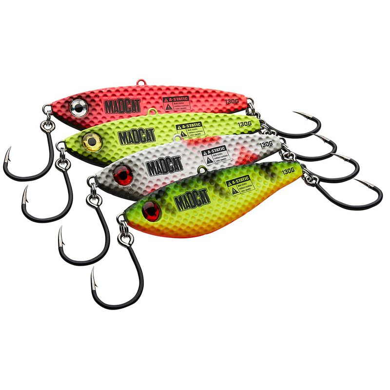 Lame vibrante madcat vibratix 12cm 110g - Lames   Pacific Pêche