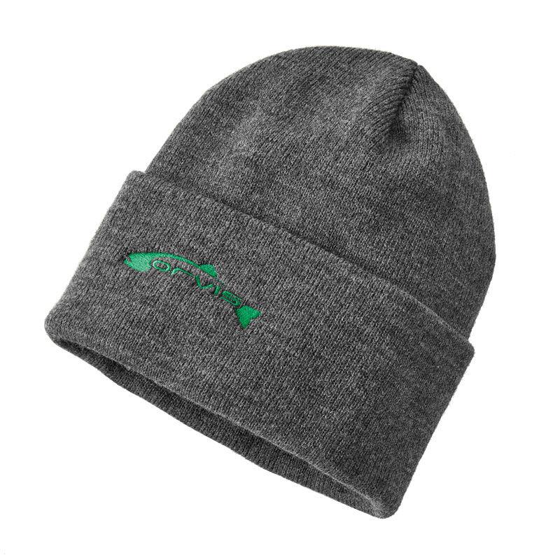 Bonnet orvis trout knit cap charcoal (coloris charbon) - Bonnets | Pacific Pêche