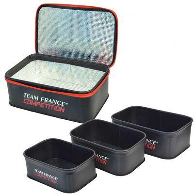 Pack trousse à appâts isotherme + set de 3 bakkan - Ensembles feeder | Pacific Pêche