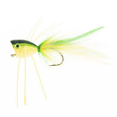 Popper silverstone frog (h6) - Streamers | Pacific Pêche
