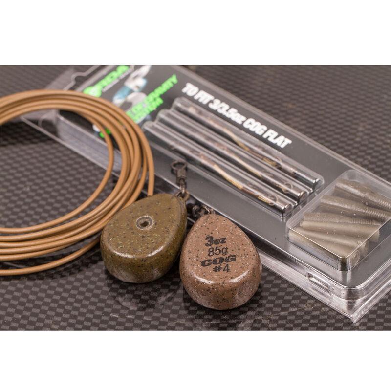 Kit montage carpe korda kit cog booms flat lead (x3) - Kit Montage Complet | Pacific Pêche