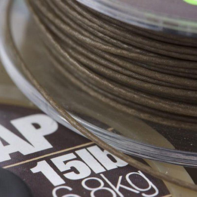 Tresse à bas de ligne carpe korda n-trap soft silt - Tresse BDL | Pacific Pêche