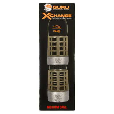 Cages feeder coup guru x-change distance feeder cage medium (x2) - Cages Feeder | Pacific Pêche