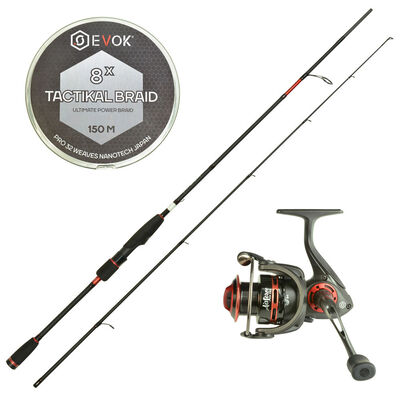 Pack prêt à pêcher carnassier evok big bait spinning - Packs | Pacific Pêche