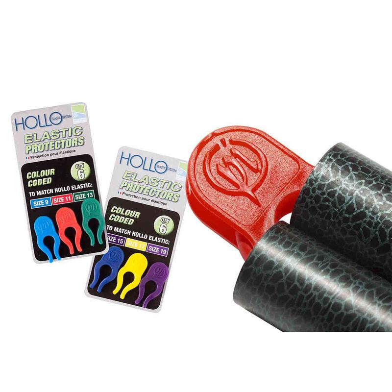 Protecteurs d'élastique coup preston hollo elastic protectors (x6) - Elastiques | Pacific Pêche