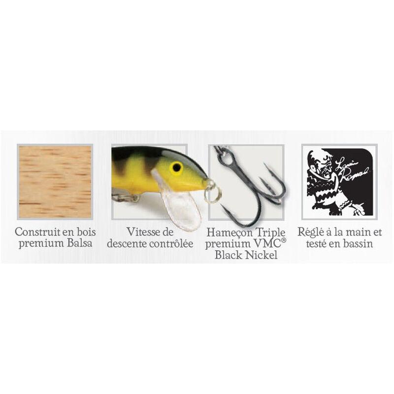 Kit leurres durs jerkbaits truite rapala cd5rt.f5mn.tr 5cm 5g - Jerk Baits | Pacific Pêche