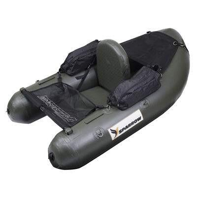 Float tube sparrow attack 160 olive - Floats Tube | Pacific Pêche