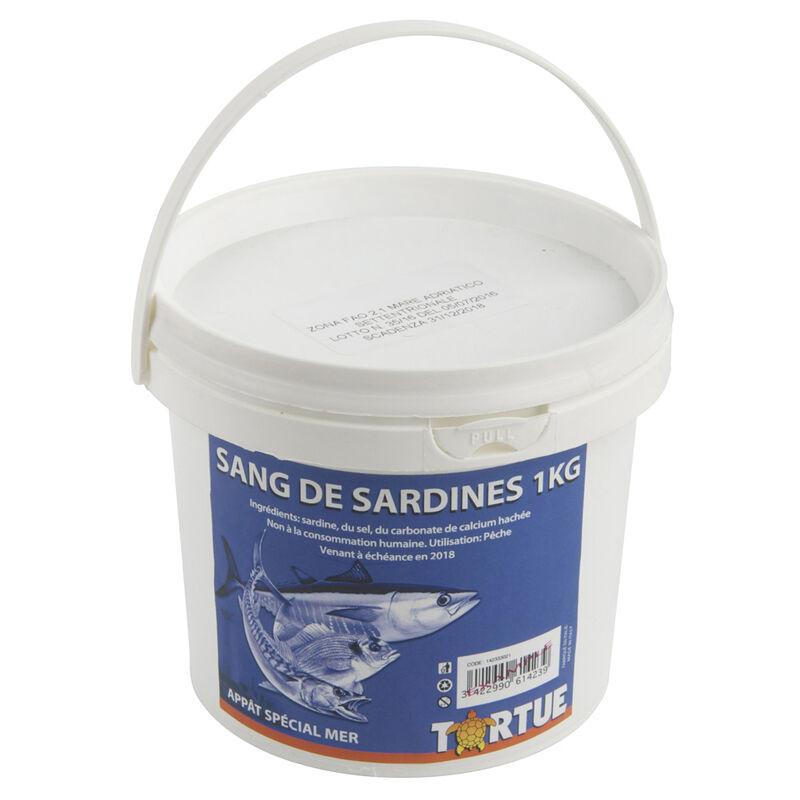 Sang de sardine tortue en seau de 1 kg - Amorce | Pacific Pêche