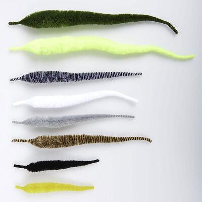 Matériau synthétique jmc dragon tail small (x5) - Matériaux Synthétique | Pacific Pêche