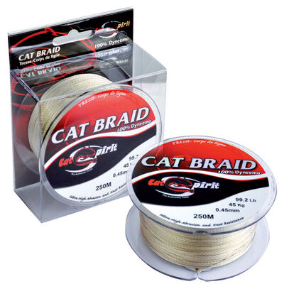 Tresse silure cat spirit cat braid 250m - Tresses | Pacific Pêche