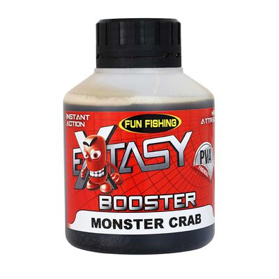 Booster extasy funfishing monster crab  200ml - Boosters / dips | Pacific Pêche