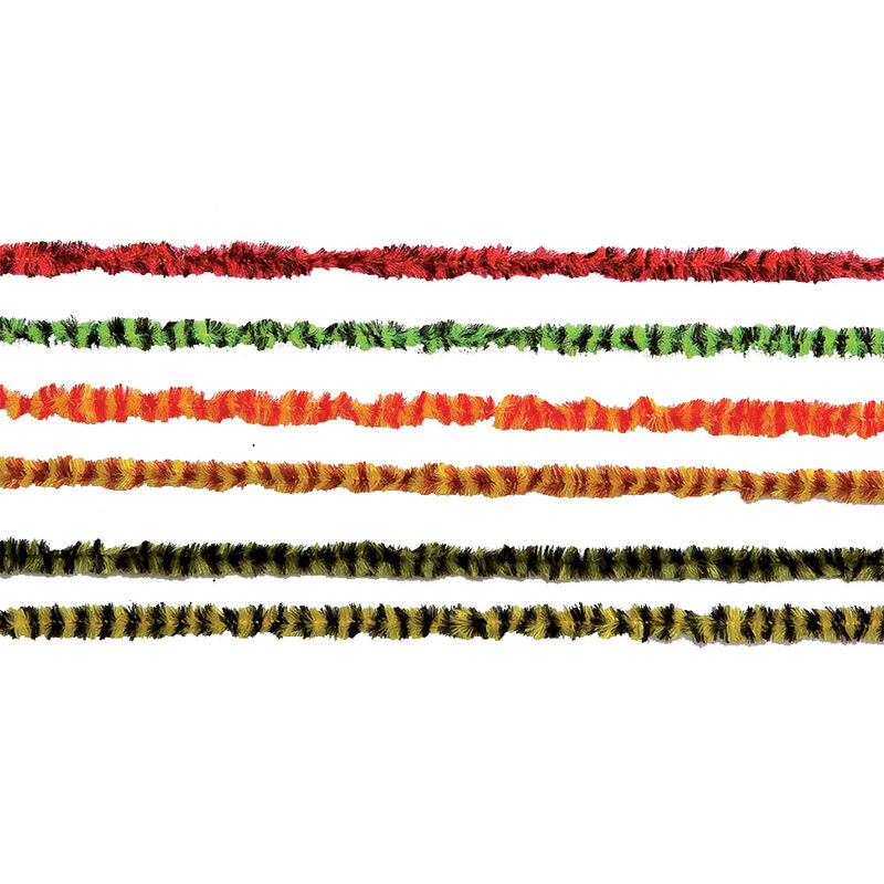 Fly tying jmc chenille bicolore - Chenilles   Pacific Pêche