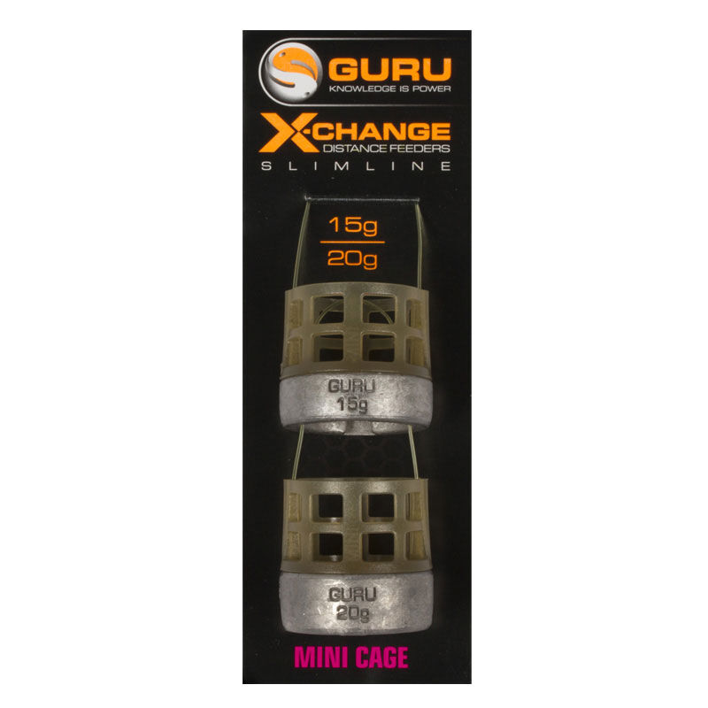 Mini cage feeder slimline x-change guru distance feeder - Cages Feeder | Pacific Pêche